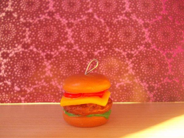 mon hamburger :)