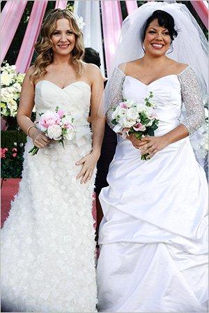 Grey's Anatomy saison 9, de Meredith à Bailey, les plus belles robes de mariée