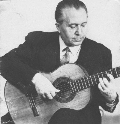 Hommage à Louis Davalle , Professeur de Guitare Classique à Marseille de 1935 à 1985