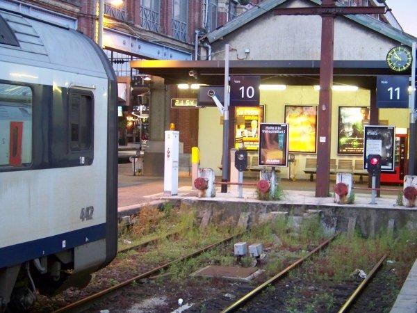 Petit tour en Gare Lille Flandre
