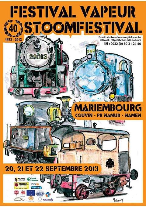 Festival Vapeur 2013 Mariembourg