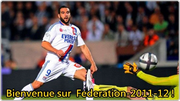 Bienvenue sur Federation-2011-12 !