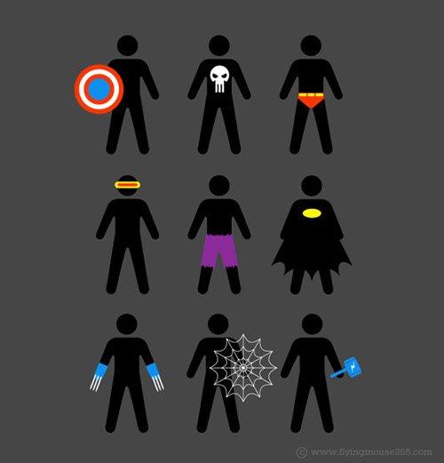I will be a super hero.