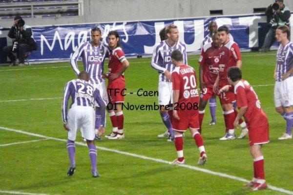 Photo du match TFC/Caen du 1er novembre 2008