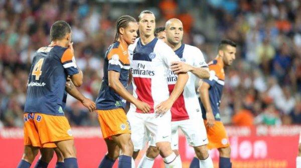 Photo du match Montpellier/PSG du 09 Août 2013