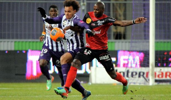 Photo du match Tfc Guingamp du 21/12/2013