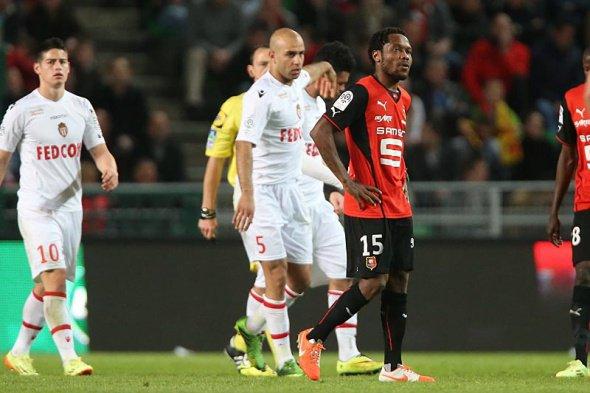 Photo du match Rennes Monaco du 12/04/2014