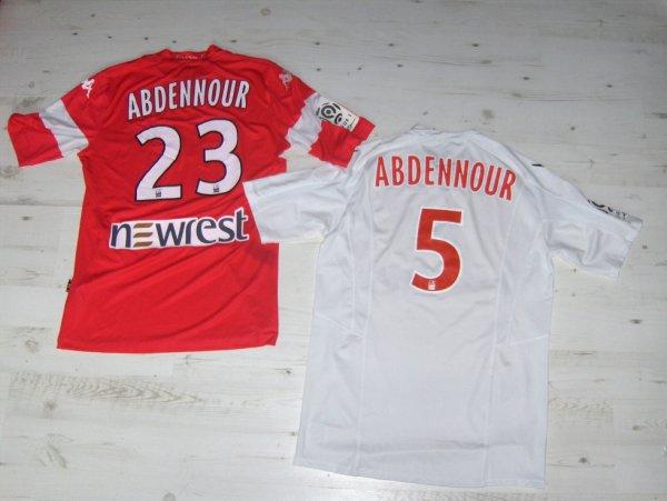 Mes deux maillots d'Aymen  Abdennour