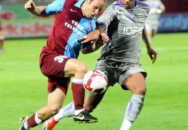 Photo d'Etienne Capoue lors du match Trabzonspor TFC du 20/08/2009