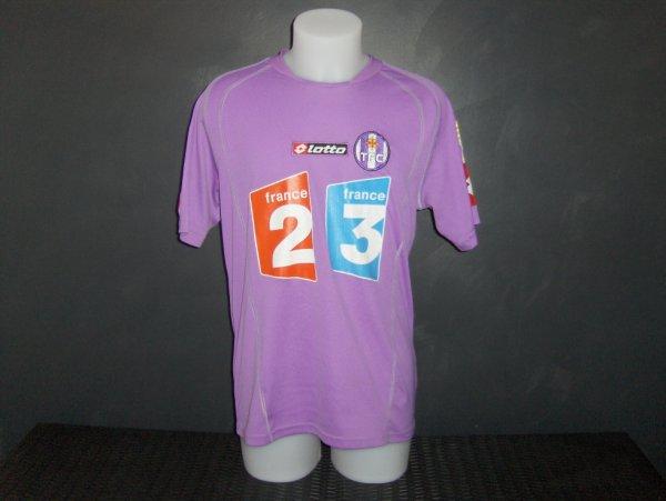 Maillot porté par Pantxi Sirieix en coupe de la ligue saison 2005/2006