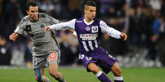 Photo de Ben Yedder lors de TFC OM le 6 mars 2015
