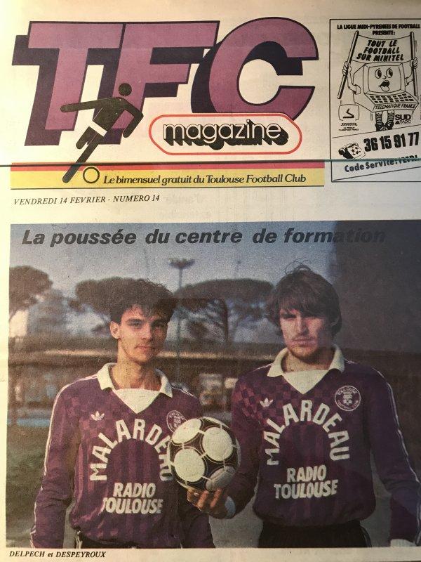 Photo de l'equipe saison 1985/1986