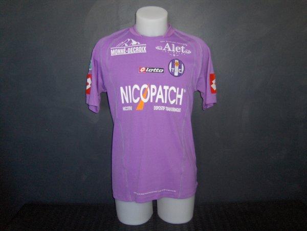 Maillot porté par Santos lors de la saison 2005/2006