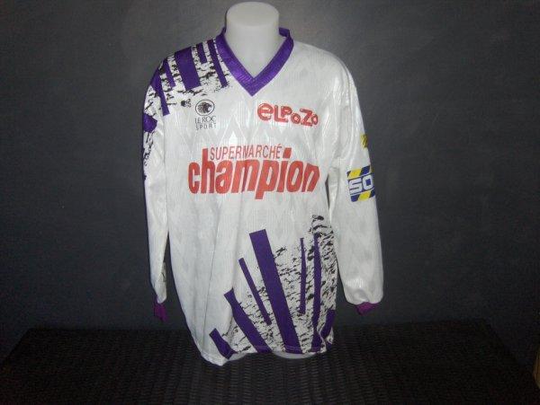 Maillot porté par Vaclav Nemecek lors de la saison 1993/1994
