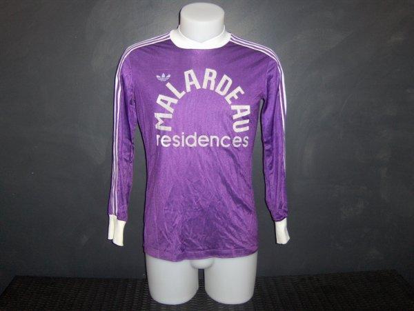 Maillot porté lors de la saison 1981/1982