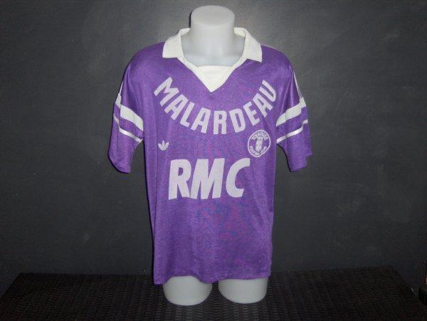 Maillot porté par Dominique Rocheteau saison 1987/1988