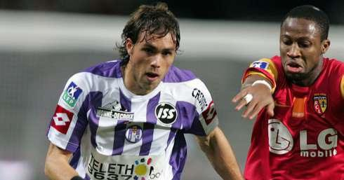 Photo de Johan Elmander lors du match du 09/12/2006 TFC/RC LENS
