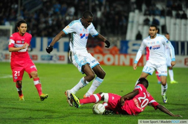Photo de Steeve Yago lors du match OM TFC du 18/12/2013