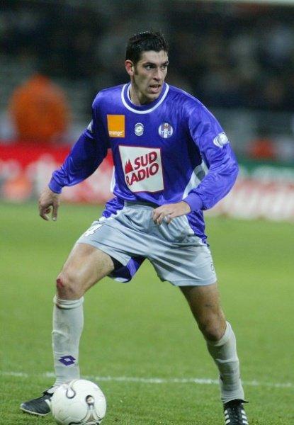 Photo de Mathieu Puig lors d'un match saison 2002/2003