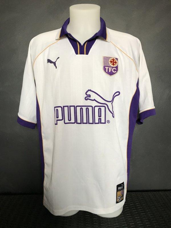 Maillot porté en match amical le 18/07/1998 TFC Sultanat d'Oman