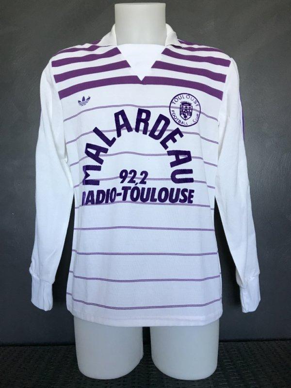Maillot porté lors de la saison 1984/1985