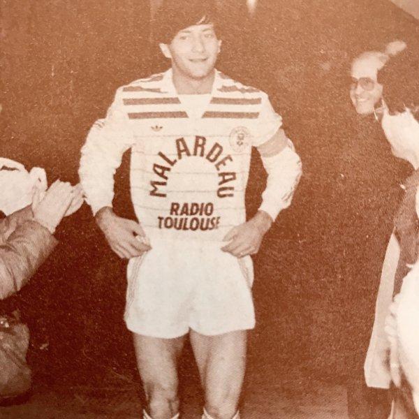 Photo de Jean François Domergue lors de la saison 1984/1985
