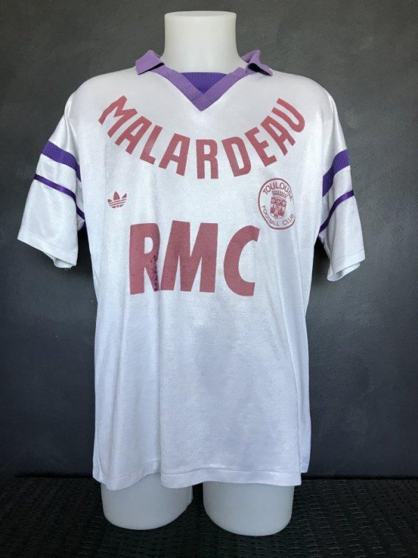 Maillot porté lors de la saison 1986/1987 (peut être par Jean Jacques Marx) ou lors de la saison 1987/1988 (peut être par Patrice Lestage).