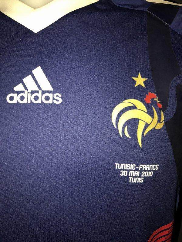 Zoom sur le coq et le match day : Tunisie France 30 Mai 2010 TUNIS