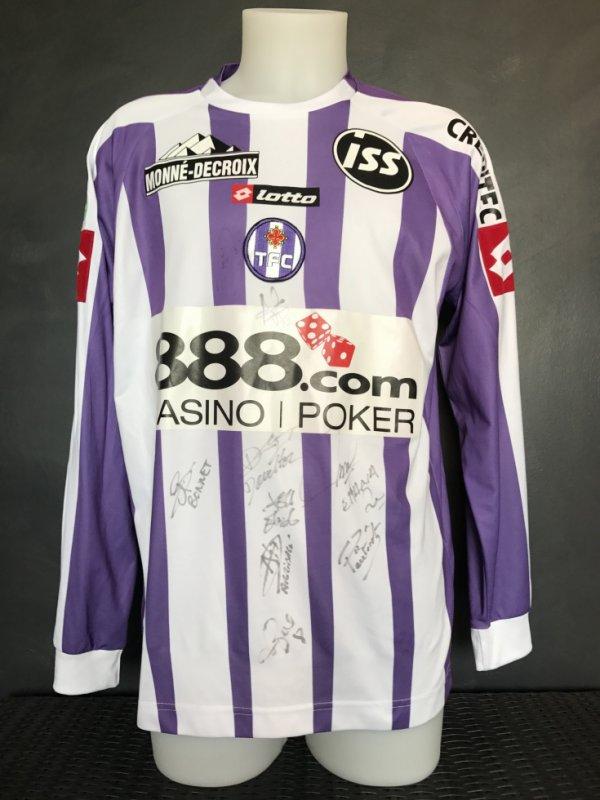 Maillot porté ou préparé pour Johan Elmander saison 2006/2007