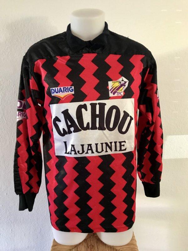 e52ed779bf8 Maillot porté par Fabien Barthez lors de la saison 1991/1992 ...