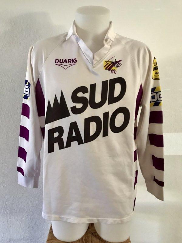 Maillot porté lors de la saison 1992/1993 (Bastére sans certitude)