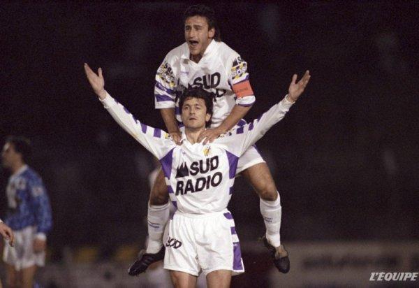 Photo du match  TFC AJA le 03/04/1993 (2 à 1)