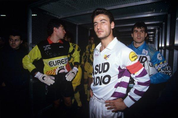 Photo dans le tunel : saison 1992 1993