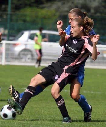 Photo d'une joueuse du TFC lors de la saison 2008/2009