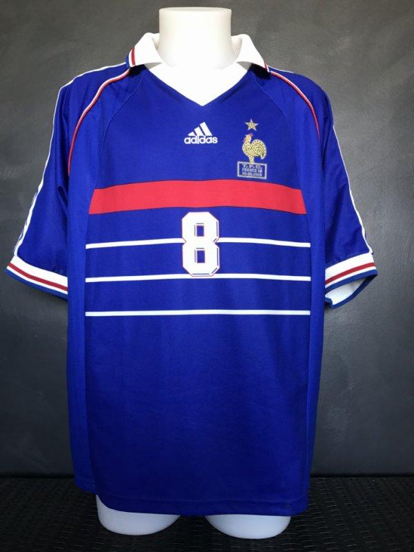 Maillot porté par Marcel Desailly lors du match TFC FRANCE 98 du 30/05/2005
