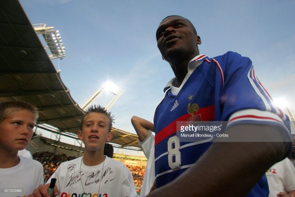 Photos de Marcel Desailly lors du match TFC France98 du 30 mai 2005