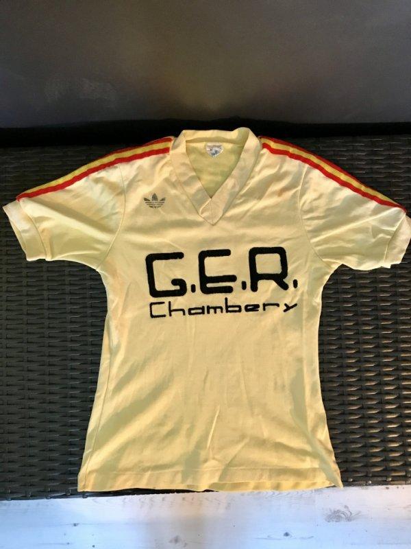 Maillot porté lors de la saison 1974/1975 période UST (maillot enfant)