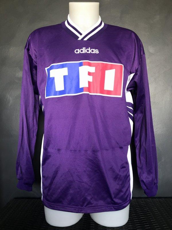 Maillot porté par Kelvin Sebwé le 15/12/1995 lors du match de 32ieme de finale de CDF Toulon TFC (1 à 0)