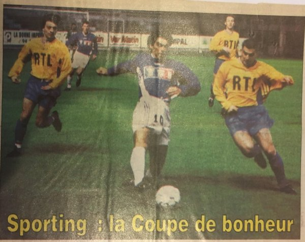 Photo du match Toulon Toulouse du 15/12/1995 (32ieme de finale de coupe de France)