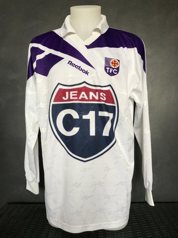 Maillot porté par Didier Santini lors de la saison 1997/1998