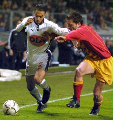 Photo de Regragui Hoalid le 09/12/2000 lors du match  TFC Lens