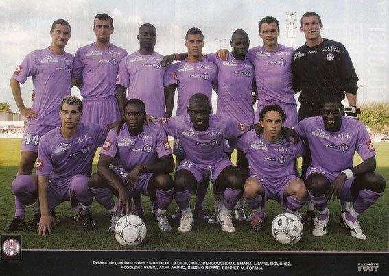 Photos du match TFC MHSC du 19/07/2005