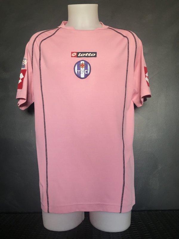 Maillot porté lors de la saison 2006/2007 en CFA version AWAY