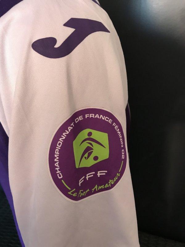 Zoom sur le Patch Championnat de France Féminin D2