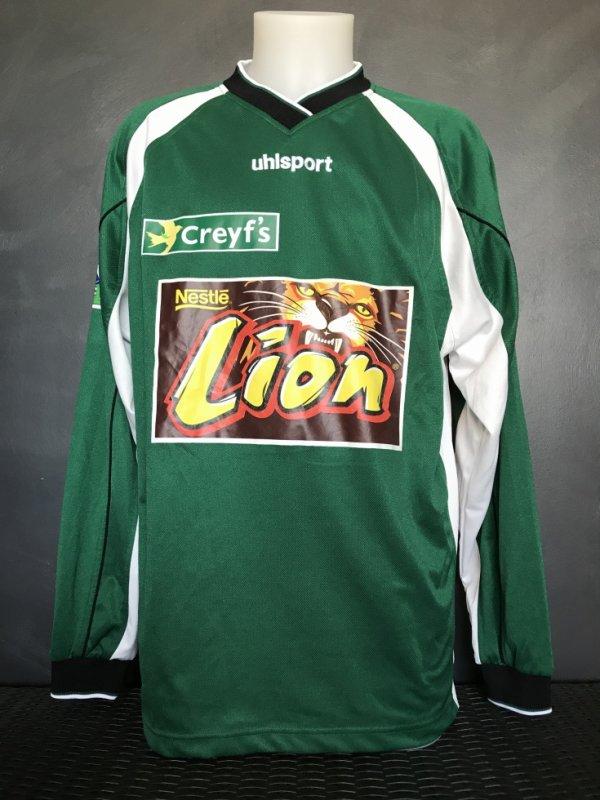 Maillot porté par Christophe Revault le 29/10/2003 lors du match Bastia TFC 16ieme de finale de coupe de la ligue