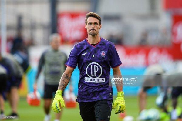 Photo de Mauro Goicoechea lors de l'échauffement d'avant match Brest TFC