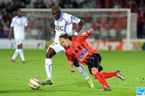 Photo du match Boulogne sur mer/ Toulouse 16ieme de finale CDL du 22/09/2010
