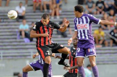 Photo du match TFC Nice en 16ieme de finale de CDL le 31/08/2011