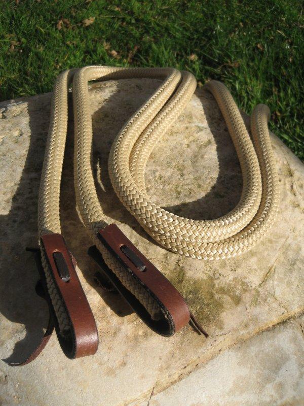 Les rênes éthologiques en corde
