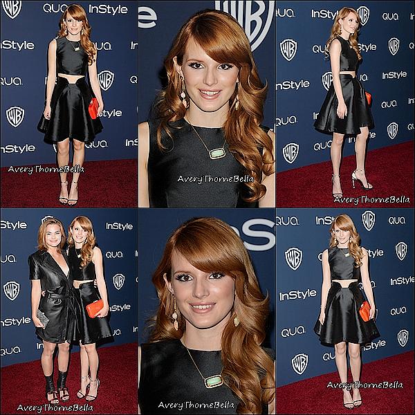 Event : Le 12 Janvier 2014 Bella s'est rendue aux Golden Globe Awards 2014  !